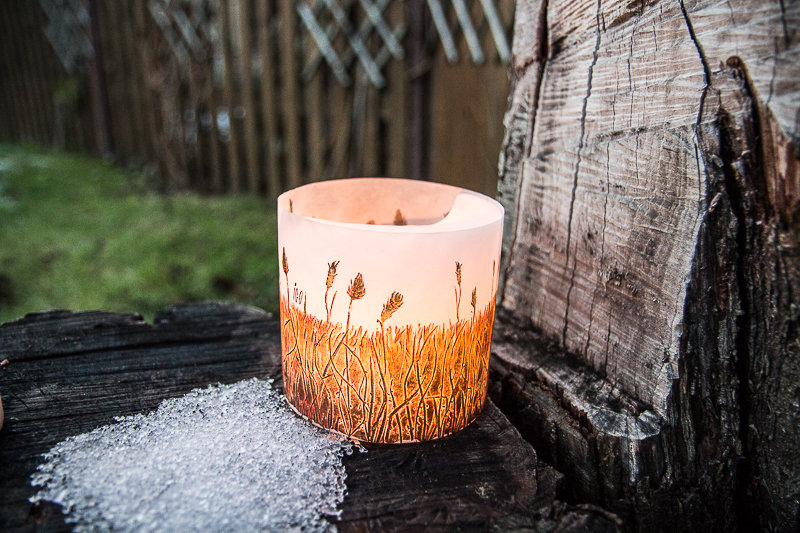 "Candle ""The Apparent Silence """