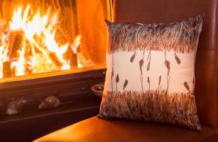 "Pillow ""The Apparent Silence"" III"