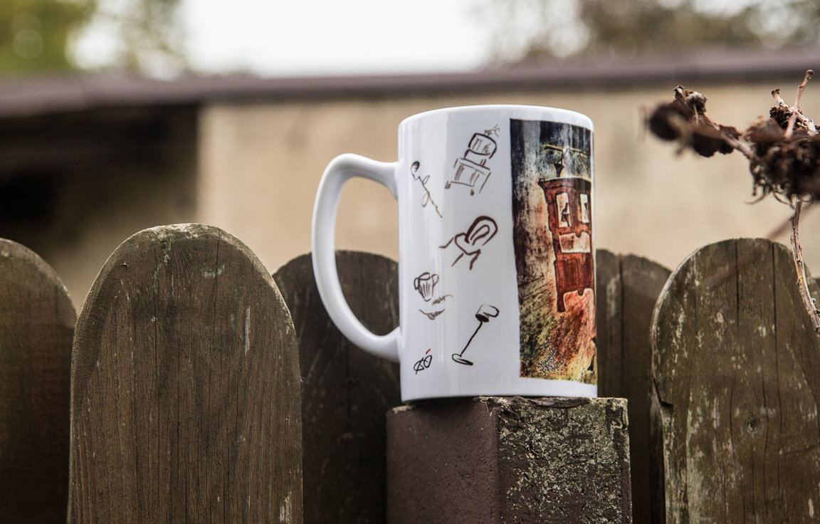 "Mug ""Dance of The Neighbours II"""