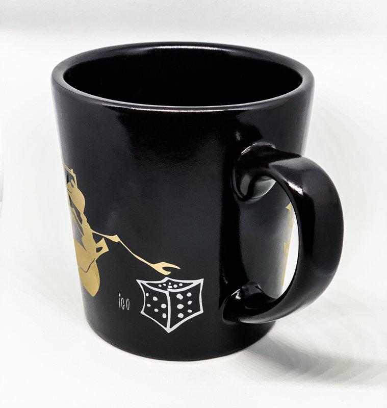 Big mug with ants