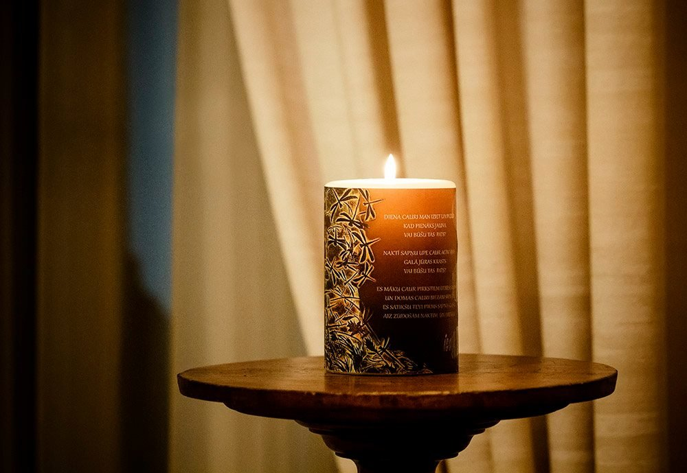 "Candle ""The Power of Dragonflies"""
