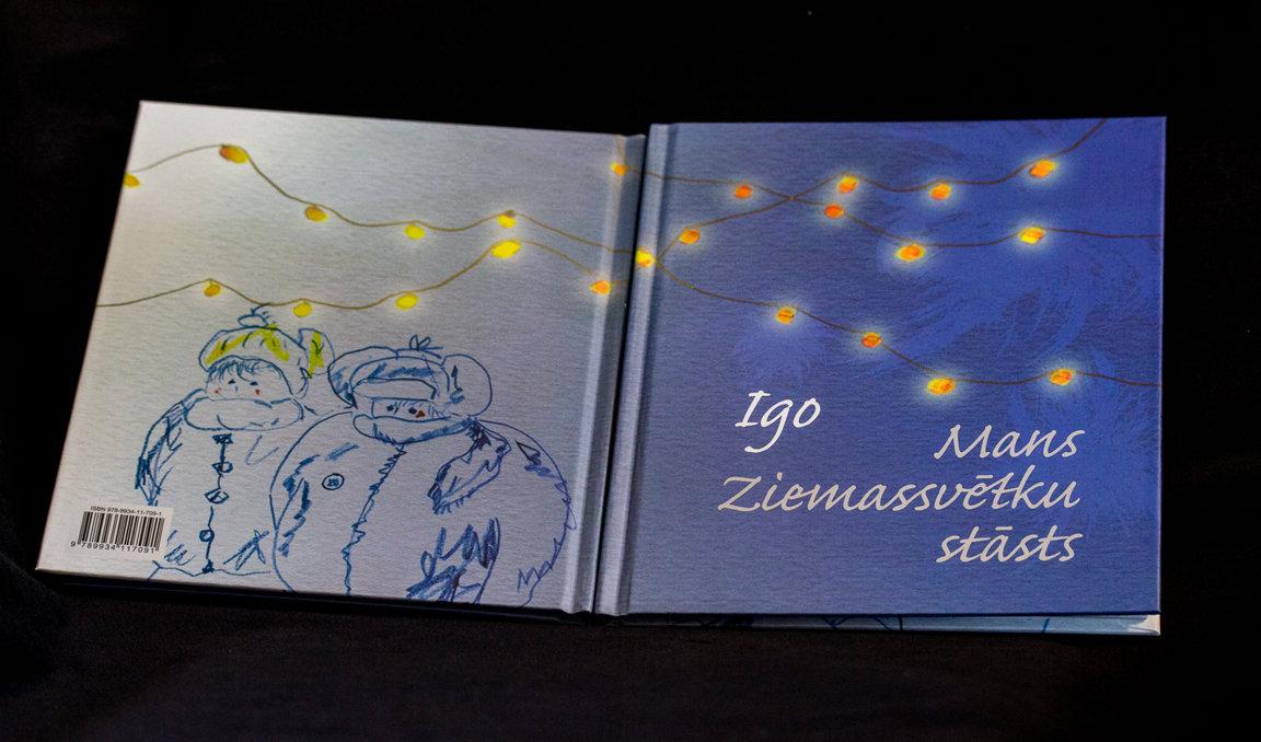 """IGO grāmata """"Mans Ziemassvētku stāsts"""""""