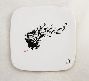 "Porcelāna šķīvis ""Svelme"""